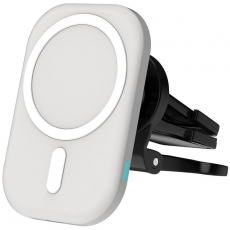 15W Wireless Magsafe Car Charger ,white