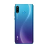 Akkufachdeckel Huawei P30 lite 48mp, Camera Glass, Peacock Blue