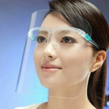 Face Shield Visier mit Brillengestell
