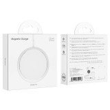 Hoco Magnetic Wireless Charger CW30 15W , white